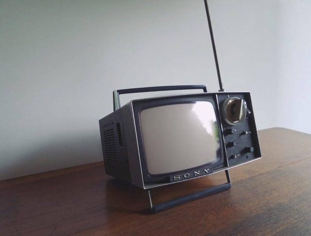 TV ancienne - Photo Franck V