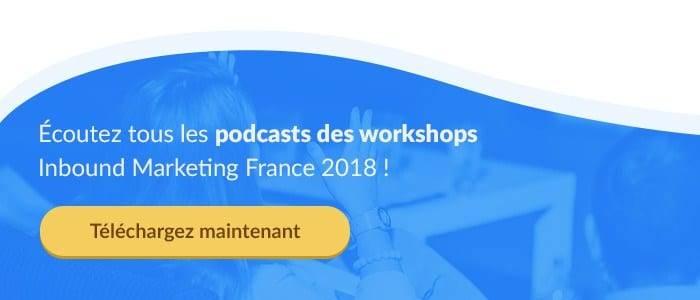 Retrouvez les podcasts de 'Inbound Marketing France